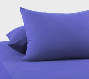 Наволочки из трикотажа светло-синий Elin