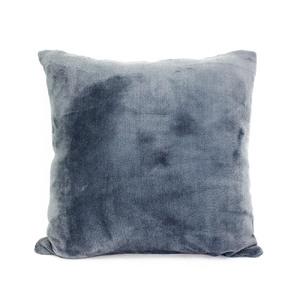 Наволочка декоративная, экстрасофт темно-серый Elin