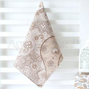 Полотенце из рогожки (1 шт) Пастель Артпостель