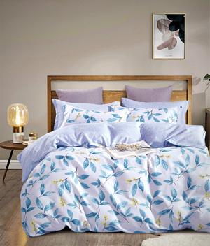 Сатиновый комплект постельного белья PS-207 Elin