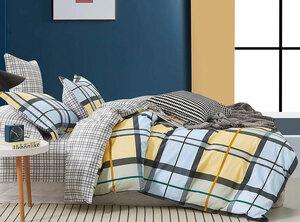 Сатиновый комплект постельного белья PS-209 Elin
