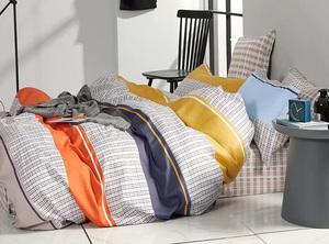 Сатиновый комплект постельного белья PS-211 Elin