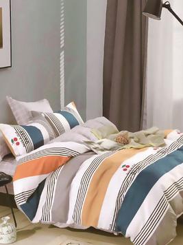 Сатиновый комплект постельного белья PS-220 Elin