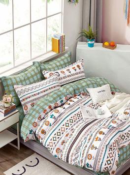 Комплект постельного белья из сатина PS-230 Elin