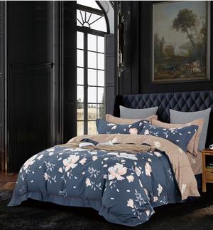 Комплект постельного белья из сатина RS-056 (простыня А) Elin