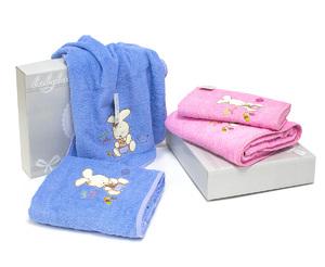 Комплект детских полотенец (50x100, 70x140)Tavsan Desen La Villa