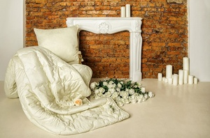 Золотой мерино шерстяные подушки и одеяла