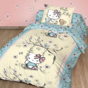 1,5 детское белье из ранфорса Hello Kitty (130) Free Style