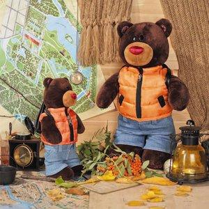 Медведь Choco мальчик Путешественник 104