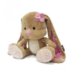 Мягкая игрушка JL005 Зайка Лин с цветком на голове Maxitoys