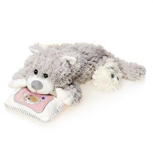 Мягкая игрушка PS-SUT05120 Кот Кузьма на подушке Maxitoys
