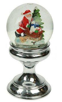 Шар 119232 водяной Дед Мороз муз. с подсвет. 20*10*10 см
