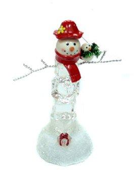 Новог. композиция 119889 Снеговик ледяной 13*9*5 см