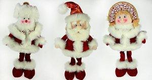 Новог. сувенир 175427 Дед Мор/Снего/Снегур 50см 3 вида в асс.