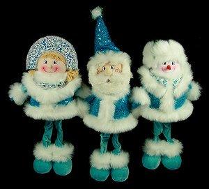 Новог. сувенир 175447 Дед Мор/Снего/Снегур 50см 3 вида в асс.