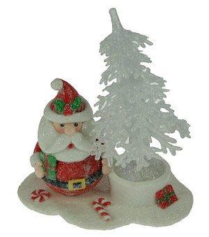 Новог. композиция 219943 Дед Мороз 14*9*16 см, с подсветкой