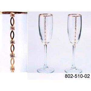 802-510-02 набор бокалов д.шампанского