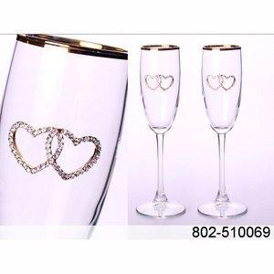 802-510069 набор бокалов д.шампанского