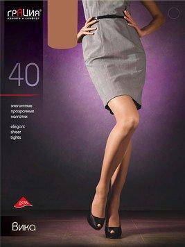 Вика 40 женские колготки Грация
