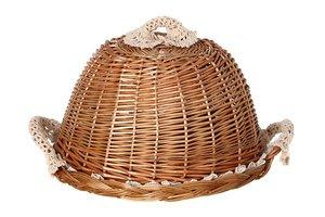 Хлебница 119-229 с крышкой круглая 30 см