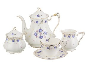 Чайный сервиз 127-613 на 6 персон 15 пр. 1125/250/200/275 мл