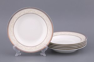 Набор тарелок 133-118 суповых, 6 шт, 20 см