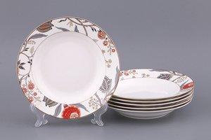 Набор тарелок 133-148 суповых, 6 шт, диаметр 20 см