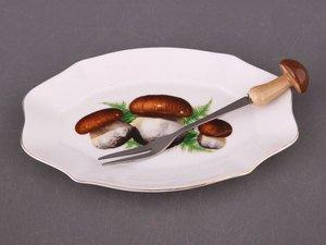 Блюдо 178-741 с вилочкой