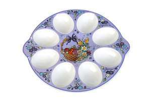 Тарелка для яиц. 178-926 диаметр 19 см.
