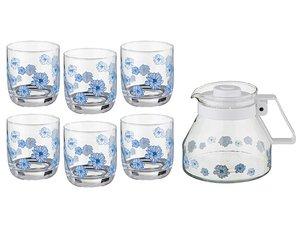 Набор 181-101 5 пр. : кувшин + 4 стакана 1300, 200 мл