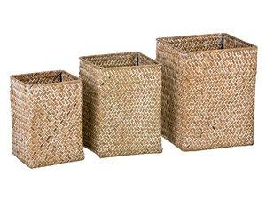 Набор корзин 213-101 плетенных из 3 шт