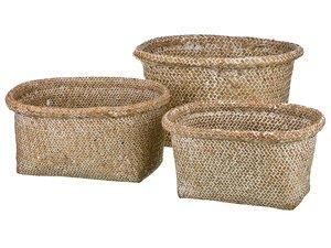 Набор корзин 213-103 плетенных из 3 шт
