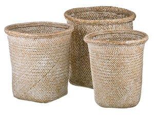 Набор корзин 213-104 плетенных из 3 шт