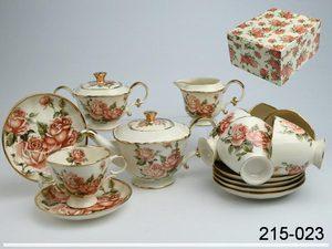 Чайный сервиз 215-023 на 6 персон 15 пр.