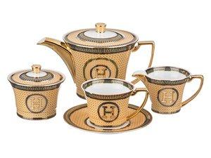 Чайный сервиз 215-266 на 6 персон 15 пр. 900, 200 мл