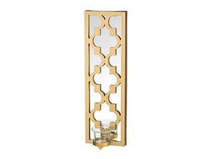 Декоративный элемент 220-152 зеркало с подсвечником East style