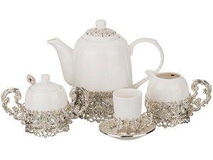 Чайный сервиз 257-190 на 6 персон 15 пр. 1500, 100, 300, 250 мл