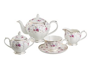Чайный сервиз 264-633 на 6 персон 15 пр. 1000/250/350/250 мл