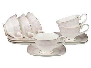 Чайный набор 264-690 на 6 персон 12 пр. 250 мл