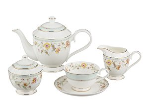 Чайный сервиз 264-706 на 6 персон 15 пр. 1000, 250, 250, 300 мл
