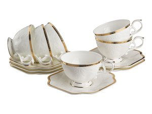 Чайный набор 264-708 на 6 персон 12 пр. 200 мл