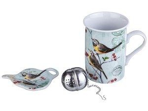 Чайный набор 270-247 3 пр.: кружка 300 мл