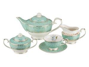 Чайный сервиз 275-648 на 6 персон 15 пр. 1100, 420, 270, 200 мл