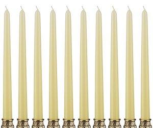 Набор свечей 348-379 лимонный из 10 шт 29 см