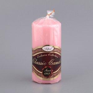 Свеча 348-394 нежно-розовая 15*7 см