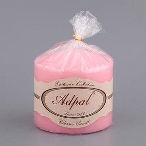 Свеча 348-404 нежно-розовая 10*10 см