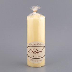 Свеча 348-429 лимонная 20*7 см