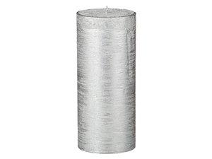 Свеча 348-530 16, 7 см серебрянная