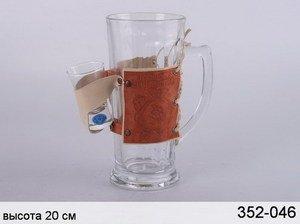Набор 352-046 : пивная кружка с рюмкой
