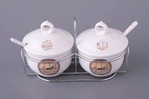 Набор 359-177 баночек для специй с ложками на подставке